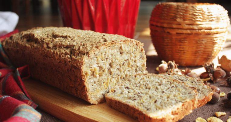Najlepszy przepis na domowy chleb z ziarnami :-)